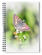 Common Checkered Skipper Butterfly  Spiral Notebook