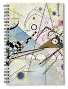 Composition 8 - Komposition 8 Spiral Notebook