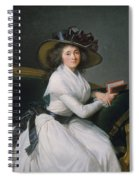Comtesse De La Chatre Later Marquise De Jaucourt  Spiral Notebook