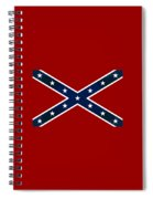 Confederate Stars And Bars T-shirt Spiral Notebook