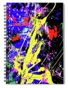 Contemporary Art Spiral Notebook