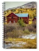 Continental Divide Spiral Notebook