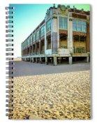 Convention Hall Beach View Spiral Notebook