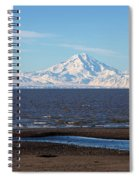 Cook Inlet And The Alaska Range From Ninilchik Spiral Notebook