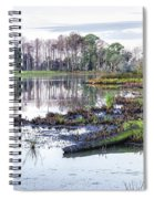 Coosaw - Early Morning Rice Field Spiral Notebook