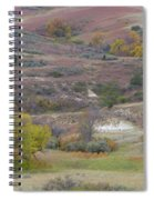 Copper Hills Autumn Spiral Notebook