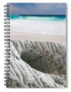 Coral By The Sea Spiral Notebook