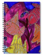 Coral Fish Spiral Notebook