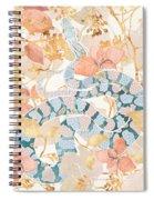 Coral Spring Garden Spiral Notebook