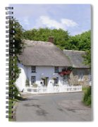 Cornish Thatched Cottage Spiral Notebook