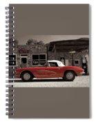 Corvette Cafe - C1 Spiral Notebook