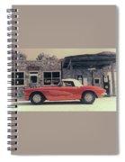 Corvette Cafe - C1 - Vintage Film Spiral Notebook