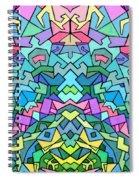 Cosmic Lock Spiral Notebook