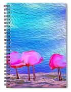 Cotton Candy Trees Spiral Notebook