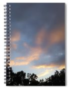 Cotton Sky Spiral Notebook