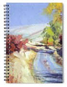 Country Blue Sky Spiral Notebook