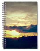 Country Sunset In Pavo Spiral Notebook