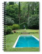 Courtyard Entrance Spiral Notebook