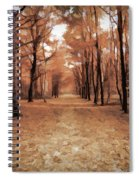Covered Path Spiral Notebook