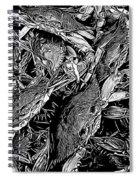Crabs In The Basket Spiral Notebook