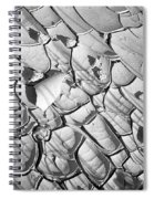 Cracked Earth Abstract Spiral Notebook