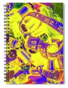 Crafting Colours Spiral Notebook