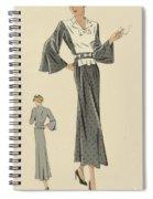 Creations De Haute Couture Spiral Notebook