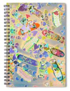 Creative Skate Spiral Notebook