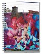 Creative Splash Of Artwork Spiral Notebook