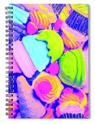 Creme De La Ice-cream Spiral Notebook