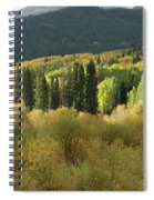 Crested Butte Colorado Fall Colors Panorama - 1 Spiral Notebook