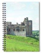 Crighton Castle In Summer Spiral Notebook
