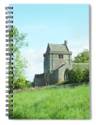 Crighton Church And Track Spiral Notebook