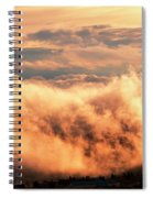 Cripple Creek Fog Spiral Notebook