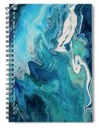 Cross Currents Spiral Notebook