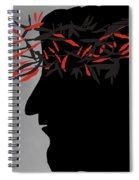 Crown Of Thorns Spiral Notebook