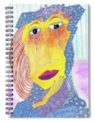 Crying Diamonds Spiral Notebook