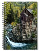 Crystal Mill Spiral Notebook
