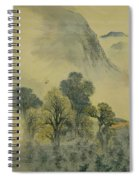 Cuckoo Flying Over New Verdure Spiral Notebook