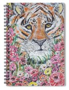 Cuddles The Tiger Small  Spiral Notebook