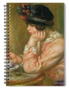 Cup Of Chocolate, 1914  Spiral Notebook