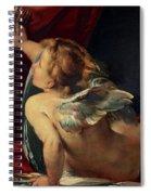 Cupid, 1620 Spiral Notebook