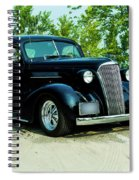 Custom 1937 Chevrolet Coupe Spiral Notebook
