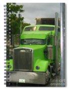 Custom Green Boca Spiral Notebook