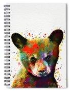 Cute Baby Bear Spiral Notebook