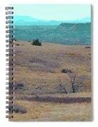 Cyan Horizon Spiral Notebook