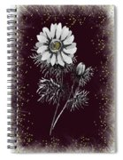 Daisy Sparkle Spiral Notebook