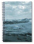 Dakota Badlands Shadows Spiral Notebook