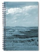 Dakota Grassland Shadows Spiral Notebook