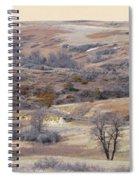 Dakota Prairie Slope Reverie Spiral Notebook